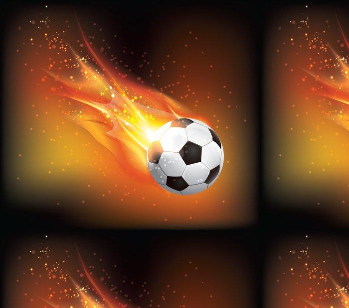 Tapeta Pixerstick Nožní míč Fly - Sportovní potřeby