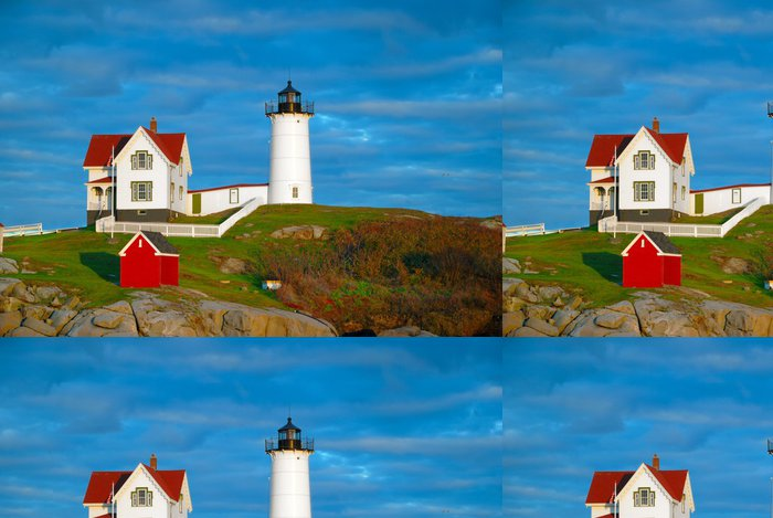 Tapeta Pixerstick Nubble Lighthouse, Maine - Amerika