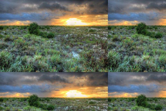 Tapeta Pixerstick Nullarbor západy slunce v Austrálii - Témata