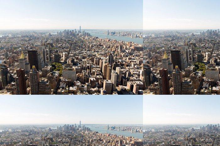 Tapeta Pixerstick NYC panorama s městskými mrakodrapů - Americká města
