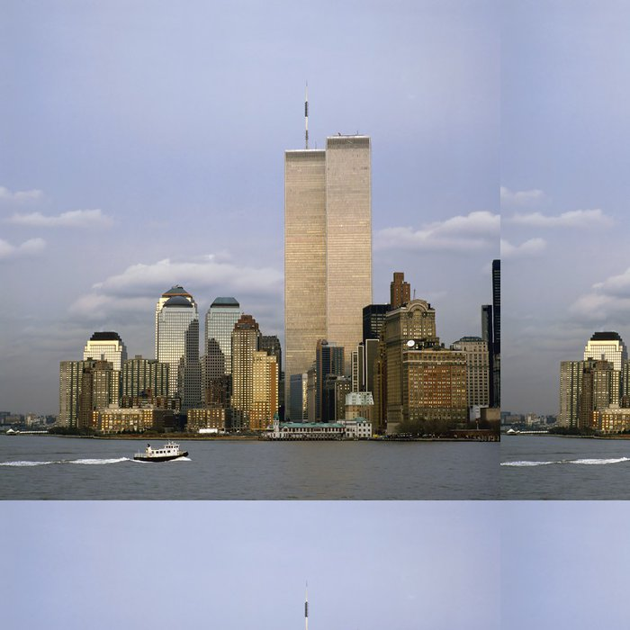 Tapeta Pixerstick NYC Skyline With The Twin Towers - Témata