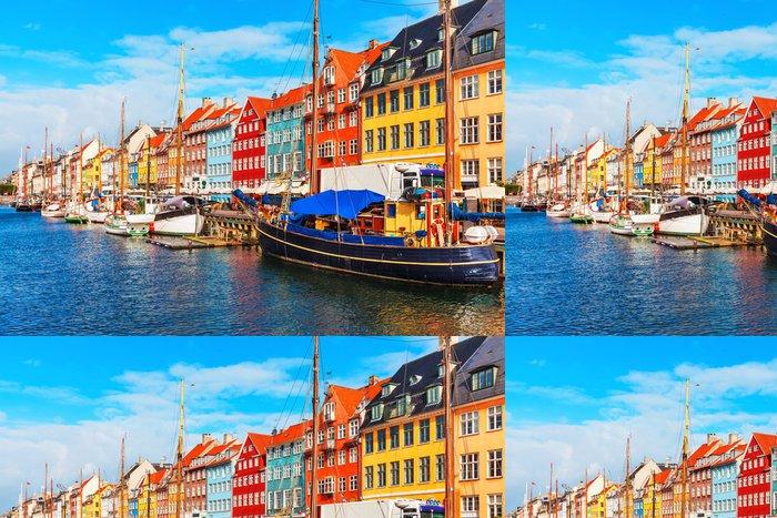 Tapeta Pixerstick Nyhavn, Kodaň - Dánsko - Témata