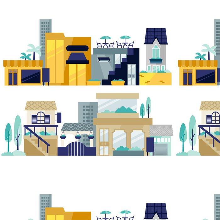 Vinylová Tapeta Obchodní dům - Industriální a obchodní budovy