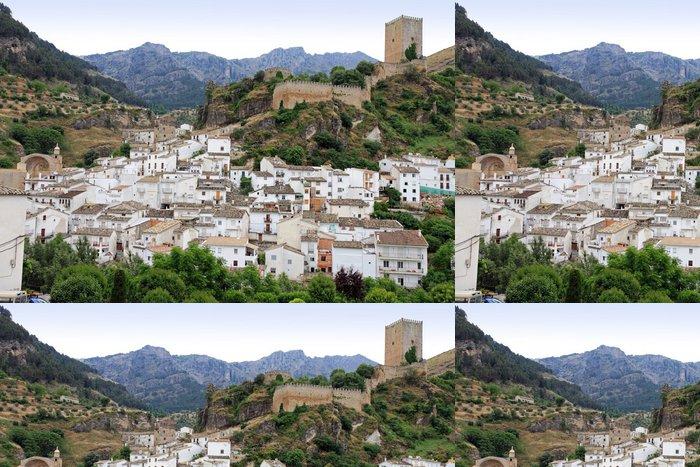 Tapeta Pixerstick Obec Cazorla Španělsko Jaen - Evropa