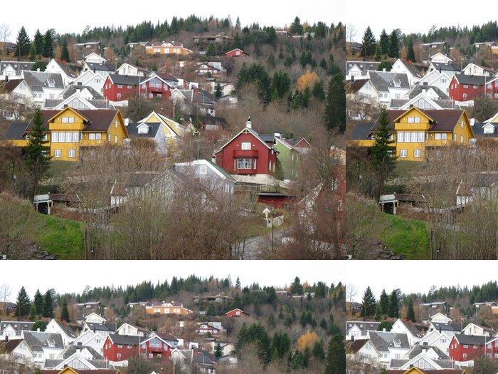 Tapeta Pixerstick Obec Scandinave - Evropa