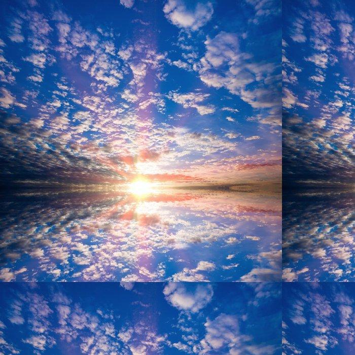 Vinylová Tapeta Obloha s mraky s odrazem - Témata