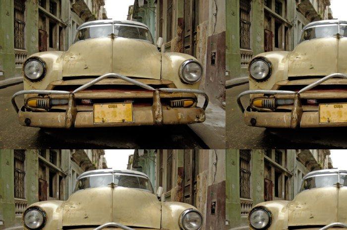 Tapeta Pixerstick Obraz scénáře Havaně na Kubě. - Témata