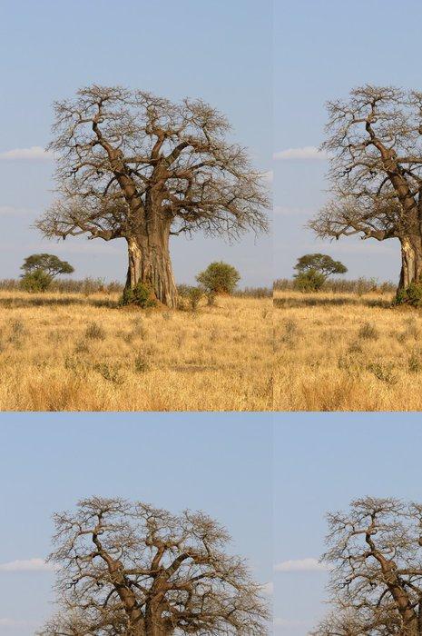 Tapeta Pixerstick Obří strom baobab - Témata