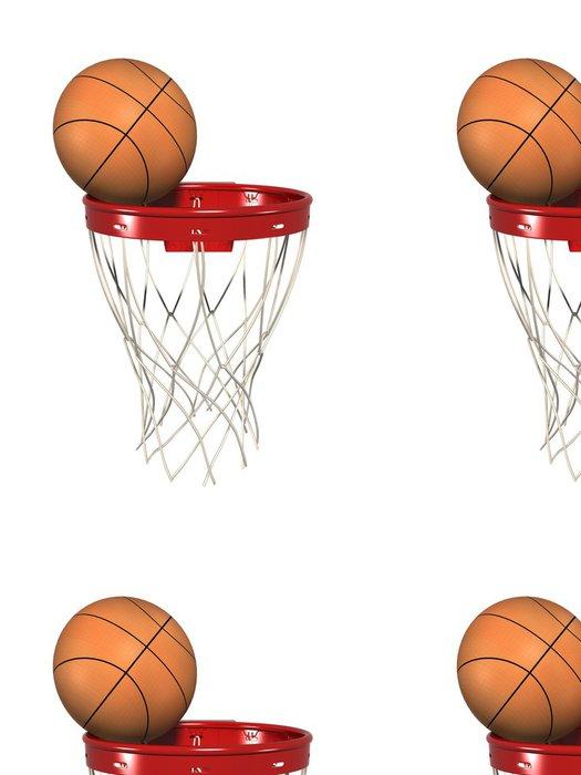 Tapeta Pixerstick Obruč v košíkové - Sportovní potřeby