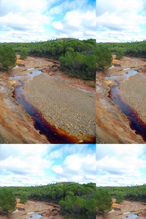 Tapeta Pixerstick Ocasním de las Minas de Riotinto - Voda