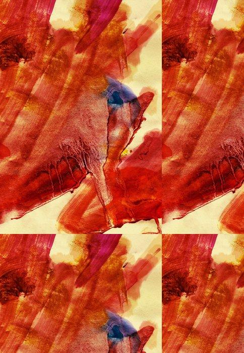 Vinylová Tapeta Ohnivý strukturovaný obraz - Umění a tvorba
