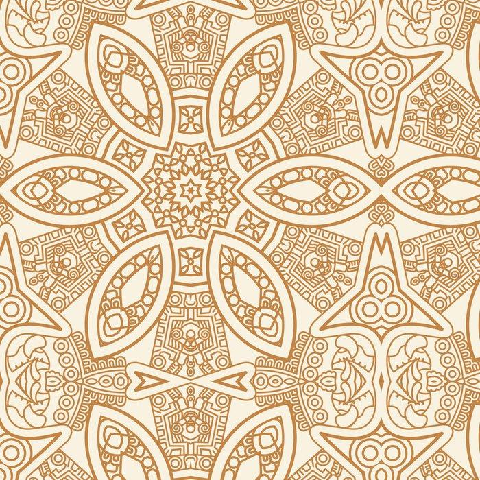 Tapeta Pixerstick Okrasné etnický původ vzor - Styly