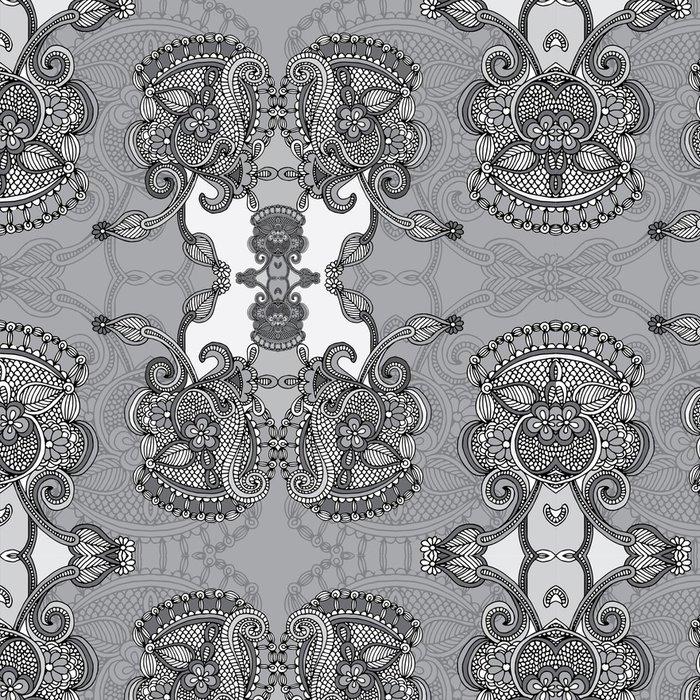 Tapeta Pixerstick Okrasné Floral Paisley Šátek - Styly