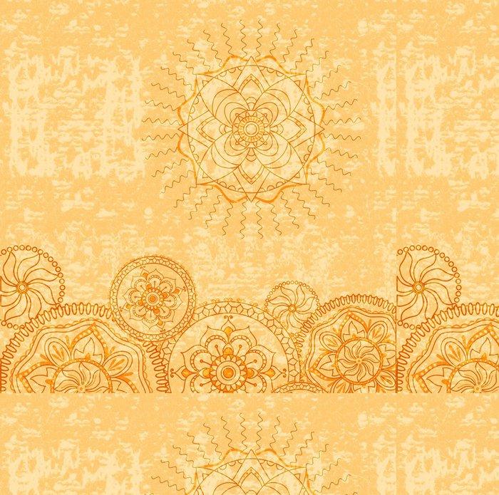 Vinylová Tapeta Okrasné Grung blank - Pozadí