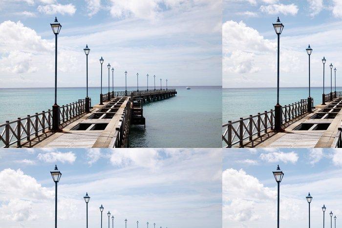 Tapeta Pixerstick Old Pier na Barbadosu - Témata