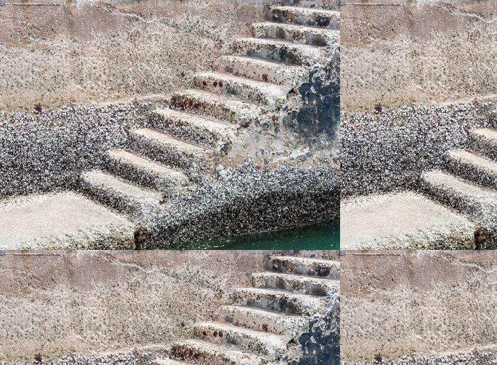 Vinylová Tapeta Old Stone Staircase - Soukromé budovy