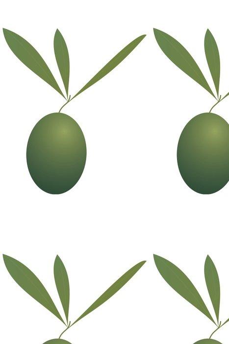 Tapeta Pixerstick Olive. - Koření a bylinky