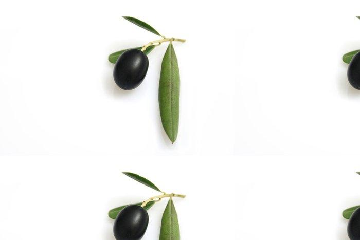 Tapeta Pixerstick Olivový s listovým - Koření a bylinky