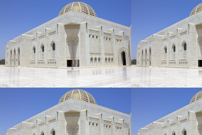 Vinylová Tapeta Omán, Velká mešita Muscat - Střední Východ