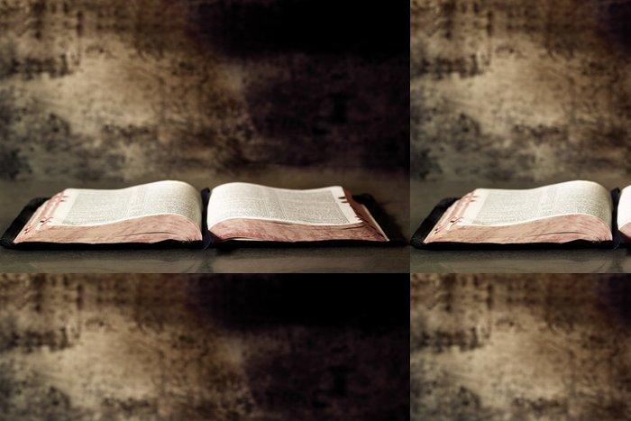 Tapeta Pixerstick Open Bible - Náboženství