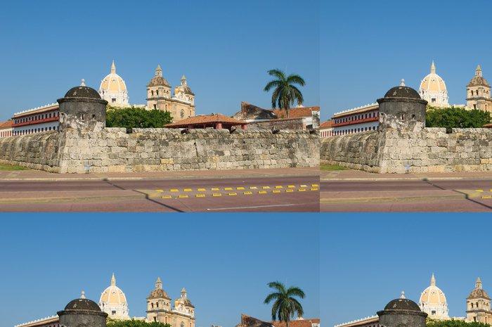 Vinylová Tapeta Opevněného města Cartagena, Kolumbie - Amerika