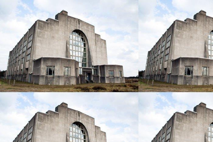 Tapeta Pixerstick Opuštěné rozhlasové stanice - - Industriální a obchodní budovy