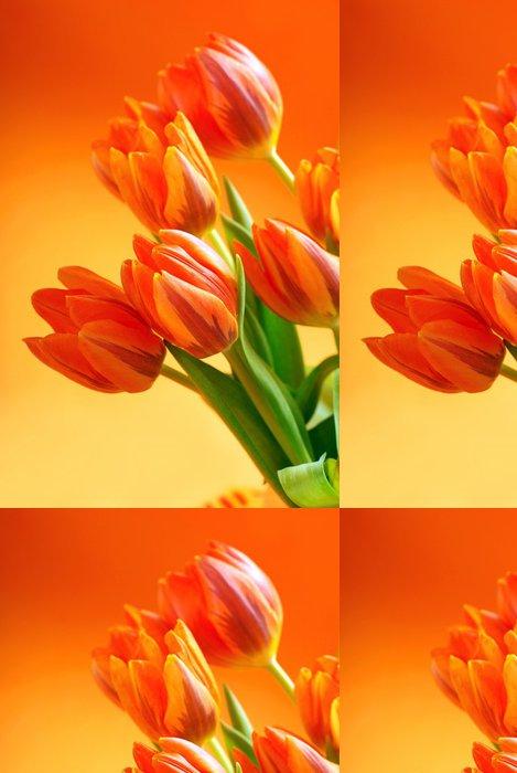 Tapeta Pixerstick Oranžové tulipany - Témata