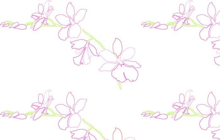 Tapeta Pixerstick Orchidee - Rostliny