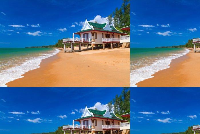 Vinylová Tapeta Orientální dovolenou na pláži v Thajsku - Asie