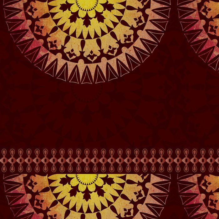 Tapeta Pixerstick Orientální vzor a verze pozadí - Pozadí