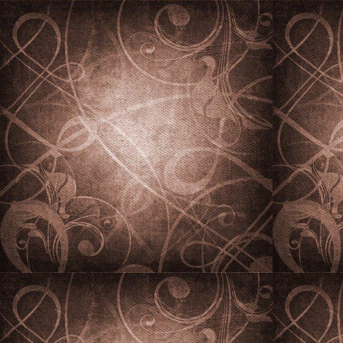 Tapeta Pixerstick Ornament na plátně struktuře - Umění a tvorba