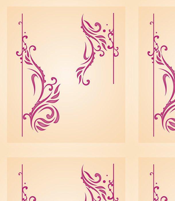 Tapeta Pixerstick Ornament prvky - Pozadí