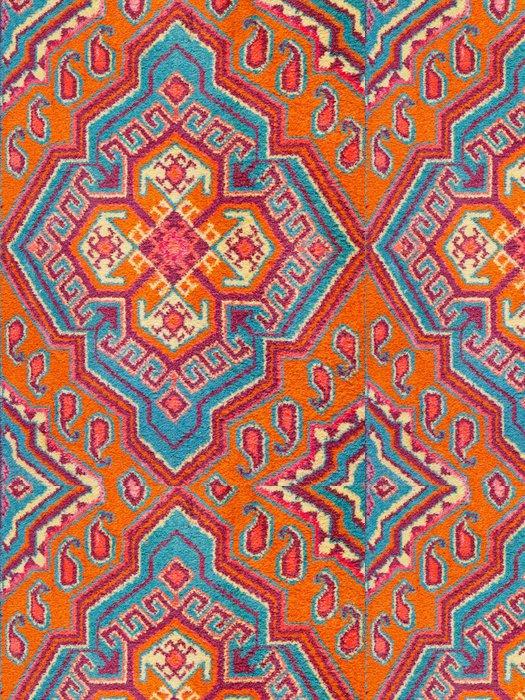 Tapeta Pixerstick Ornament ze středoasijské koberce - Domov a zahrada