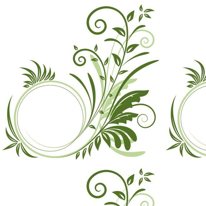 Tapeta Pixerstick Ornament - Rostliny