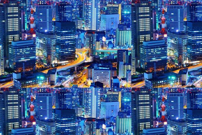 Tapeta Pixerstick Osaka Japan Cityscape - Asie