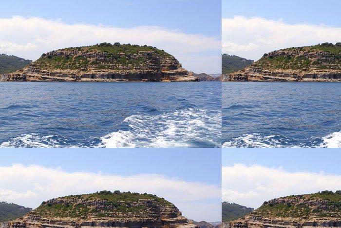 Tapeta Pixerstick Ostrov Portichol v Javea Alicante provincie Španělska - Evropa
