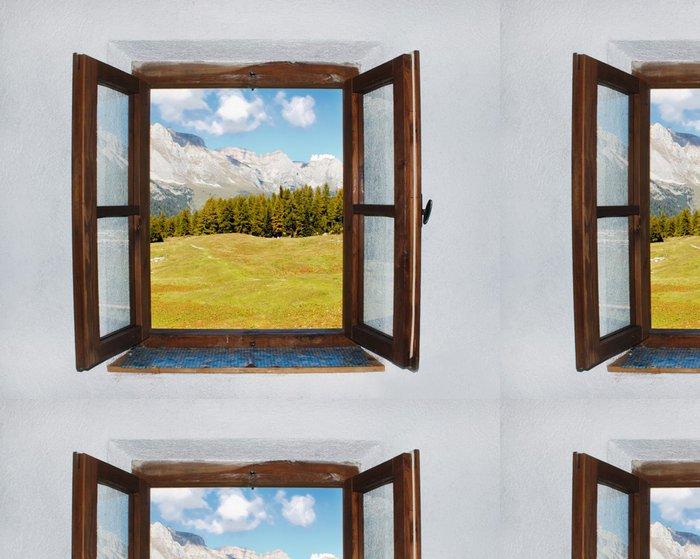 Vinylová Tapeta Otevřené okno - Témata