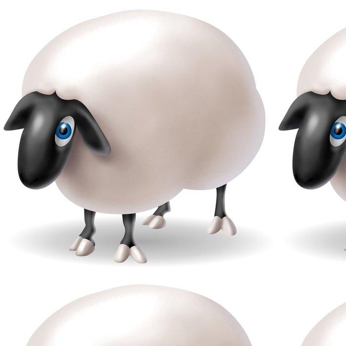 Tapeta Pixerstick Ovce - Savci