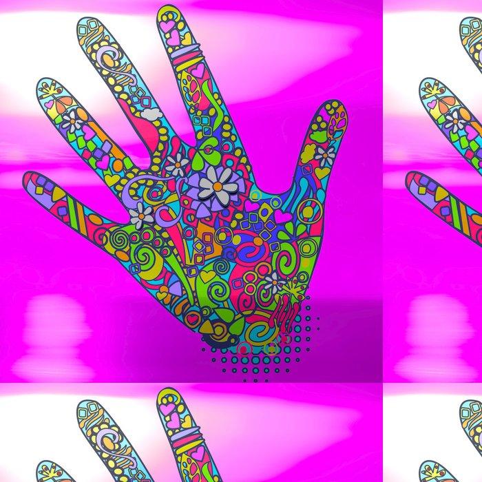 Tapeta Pixerstick Ozdobou tatouage květ art ornement forme - Značky a symboly