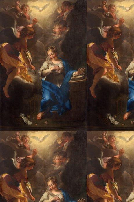 Tapeta Pixerstick Padua - Zvěstování obraz v Dom - Duomo - Evropa