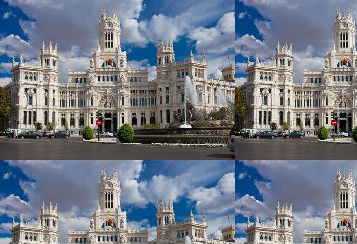Tapeta Pixerstick Palác v Madridu - Evropská města