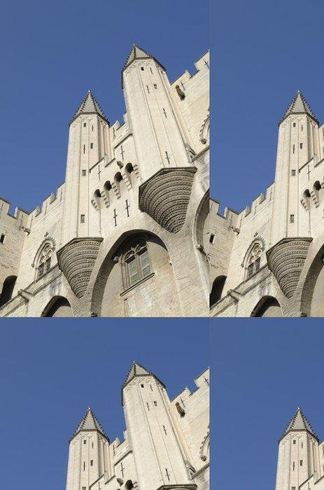 Tapeta Pixerstick Palais des Papes en Avignon - Evropa
