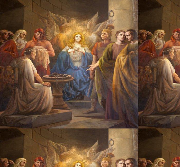 Tapeta Pixerstick Palermo - Paint raného křesťanského mučednictví - Evropa