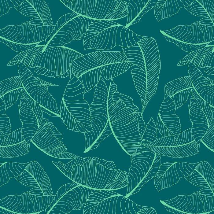 Tapeta Pixerstick Palmu vzor - Grafika