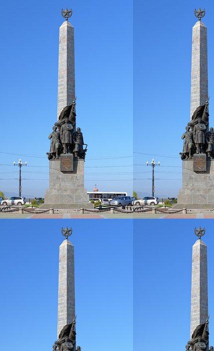 Tapeta Pixerstick Památník hrdinů občanské války, Chabarovsk, Rusko - Asie