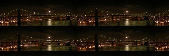 Vinylová Tapeta Panaromic brooklyn bridge - Brooklynský Most