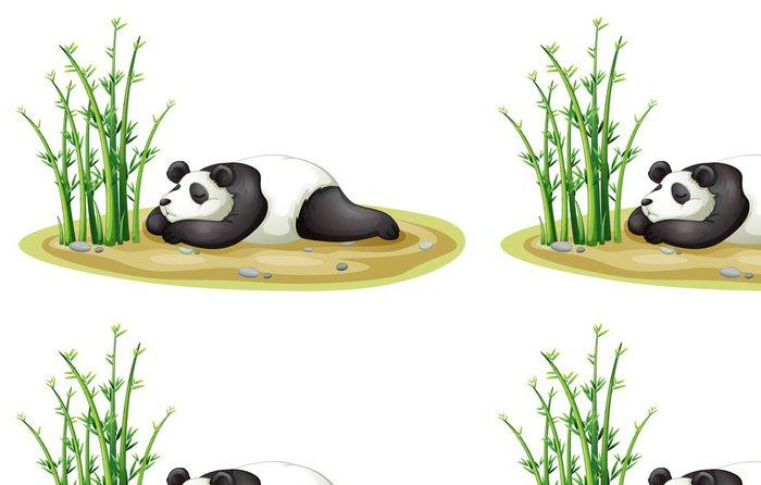 Tapeta Pixerstick Panda - Nálepka na stěny