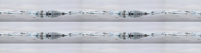 Tapeta Pixerstick Panorama Jokulsarlon ledové laguny na Islandu - Evropa