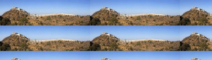 Tapeta Pixerstick Panorama Kumbhalgarh Fort Rádžasthán - Asie