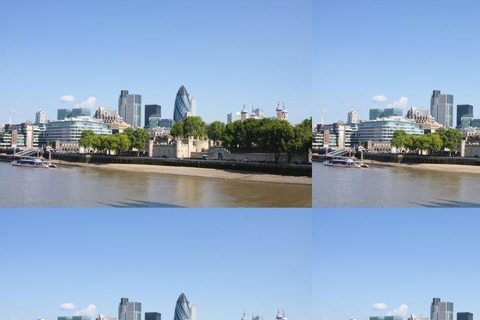 Tapeta Pixerstick Panorama londyn - Evropská města